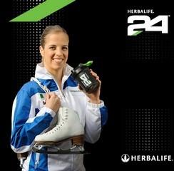 Témoignage de Carolina Kostner à propos de Herbalife24