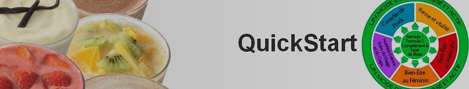 Programme QuickStart (démarrage rapide)