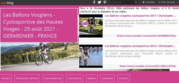 cyclosportive ballons vosgiens 2021